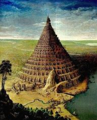 The Tower of Babel, by Paul Gosselin.