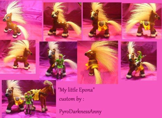 Epona, by PyroDarknessAnny.