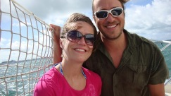 Hubs and I being pirates in Key West.