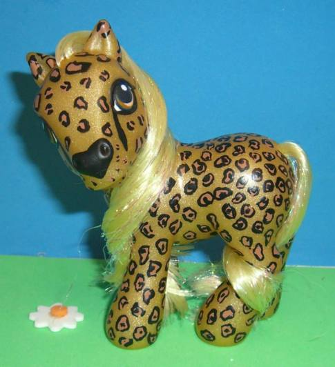 My Little Cheetah, by Janellybean Customs.