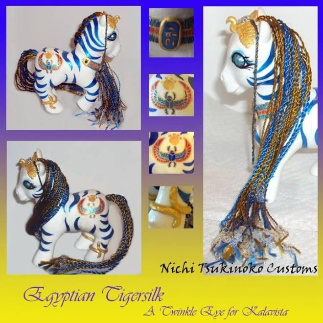 Egyptian Tigersilk, by Nichi Tsukinoko