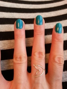 Mermaid tail ring from Juliana <3