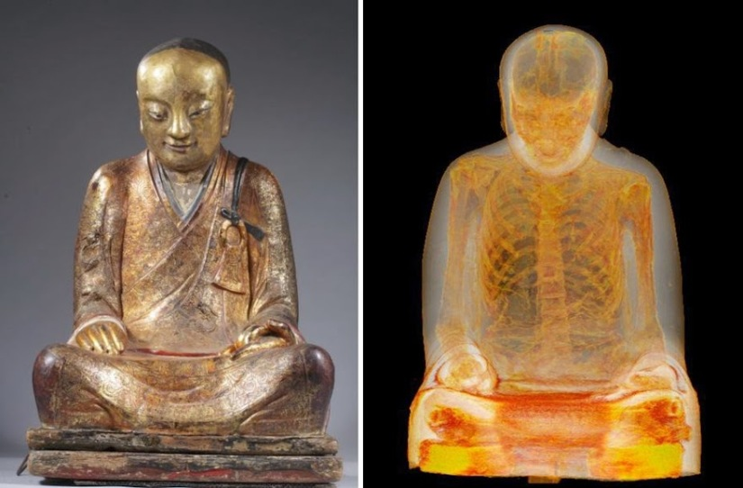 "Science Tuesday:  The ""Living Buddha"", New Metamaterials, and the City of the Monkey God."
