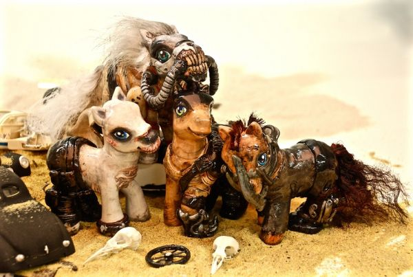 Mad Max: Fury Road Ponies, by EatToast